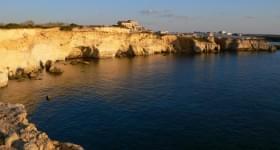 Sulla Scogliera Punta Formiche